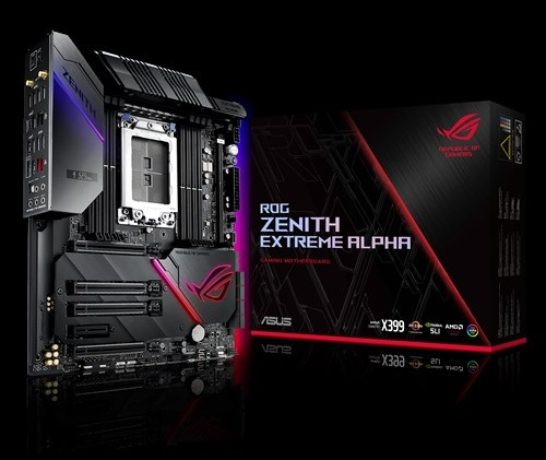 Backplate Zenith Extreme Alpha
